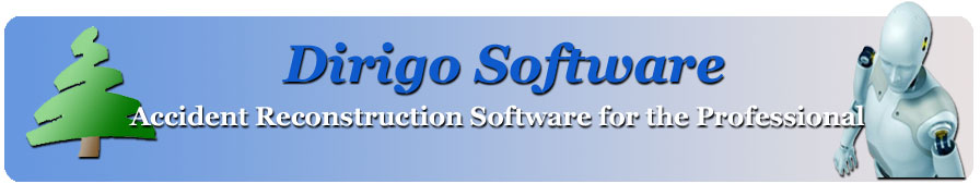 Dirigo Software, Accident Reconstruction Software for the Professional